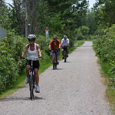 north central trail bicycling - image